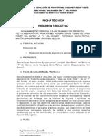 """Resumen Ejecutivo Proyecto """"DE LA ASOCIACIÓN DE PRODUCTORES AGROPECUARIOS JESÚS DEL GRAN PODER DEL BARRIO LA """"Y"""" DEL GUINEO"""""""