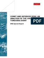Comet and Asteroid Risk