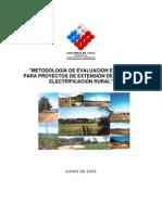 Metodologia Evaluacion Ex Post Electrificacion Rural
