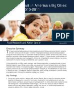 Urban School Breakfast Report 2012