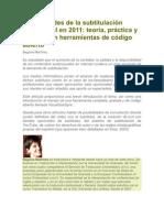 subtitulación profesional en 2011