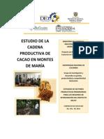 Estudio de la Cadena Productiva de Cacao en los Montes de María (Bolívar y Sucre)