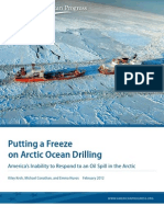 Putting a Freeze on Arctic Ocean Drilling