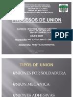 Procesos de Union