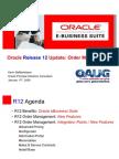 Oracle r12 OM