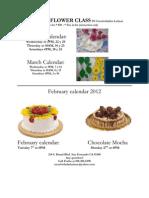 Mocha y Queque Calendar