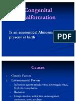 Congenital Malformation