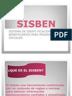 Trabajo Expo Sic Ion Diapositivas Sisben