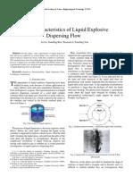 Lei Li et al- On the Characteristics of Liquid Explosive Dispersing Flow