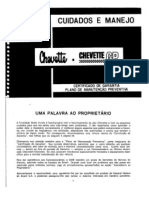 Manual Proprietario Chevette 76 79