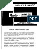 Manual Proprietario Chevette 76 79
