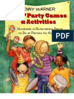 Kids' Party Games and Activities - 223p