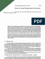 D. Desbordes- Critical Initiation Conditions for Gaseous Diverging Spherical Detonations
