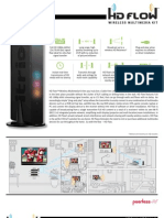 Peerless HDS100 HD Flow Wireless Multimedia Kit Spec Sheet
