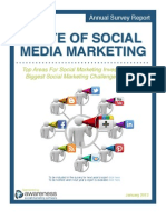 The State of Social Media Marketing Report #Awarenessinc