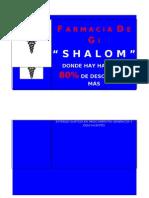 Lona de Farmacia Shalom