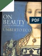 Umberto ECO - On Beauty