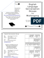 English Language Conversation Groups In Wollongong