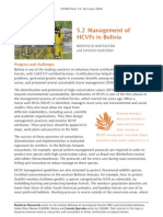 Management of High Conservation Value Forests in Bolivia -Mostacedo-Quevedo