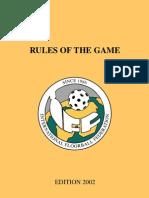 IFF Floorball Rules