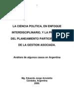 Arnoletto, Eduardo Jorge - Planeamiento Participativo y Gestión Asociada