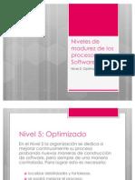 Niveles de Madurez de Los Procesos de Software