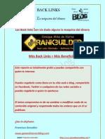 Back links gratis La Maquina Del Dinero Los Backlinks