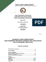 San Mateo County Harbor Commission Budget