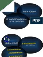 Feae y Revista. Presentacion en XIX Jornadas (15-11-08)