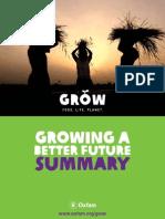 20110601 Oxfam Growing a Better Future 010611 Summ En