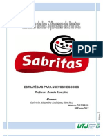 Las 5 Fuerzas de Porter SABRITAS