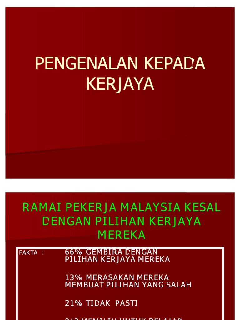 Modul 1 Kerjaya