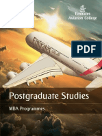 MBA Brochure 2010