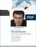 Nouriel Roubini is Documented@Davos