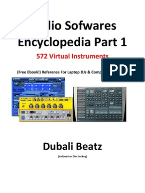 Audio Sofwares Encyclopedia Part 1: Dubali Beatz