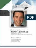 Stefan Dyckerhoff is Documented@Davos Transcript
