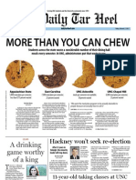 The Daily Tar Heel for February 3, 2012