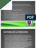 Historia de La Medicion