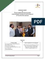 Hyderabad Workshop Report