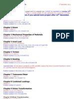Term Project CE202 F2011