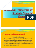 Conceptual Framework of Strategic Financial Management
