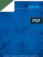 Rico Annual Report 2010-11