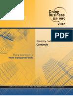 KHM_Wrld Bnk 2012 Economy Profile