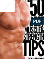 50 Best Muscle and Strength Tips
