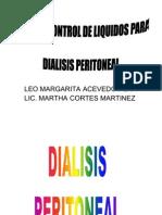 Hoja de Control de Liquidos Para Dialisis