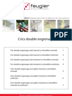 Cric Vanne Double Engrenage