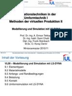MVP II 09 Model Lie Rung Und Simulation Mit LS-DYNA
