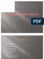 Key Grammar Points