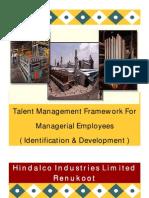 Talent Mgt Framework