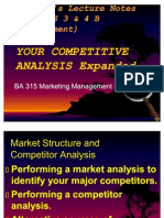 Competitor Analysis